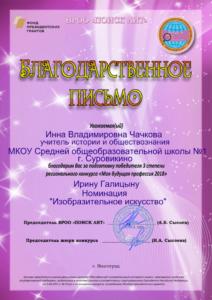 Icon of Чачкова ИВ 3