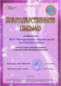 Icon of Малодельская сш