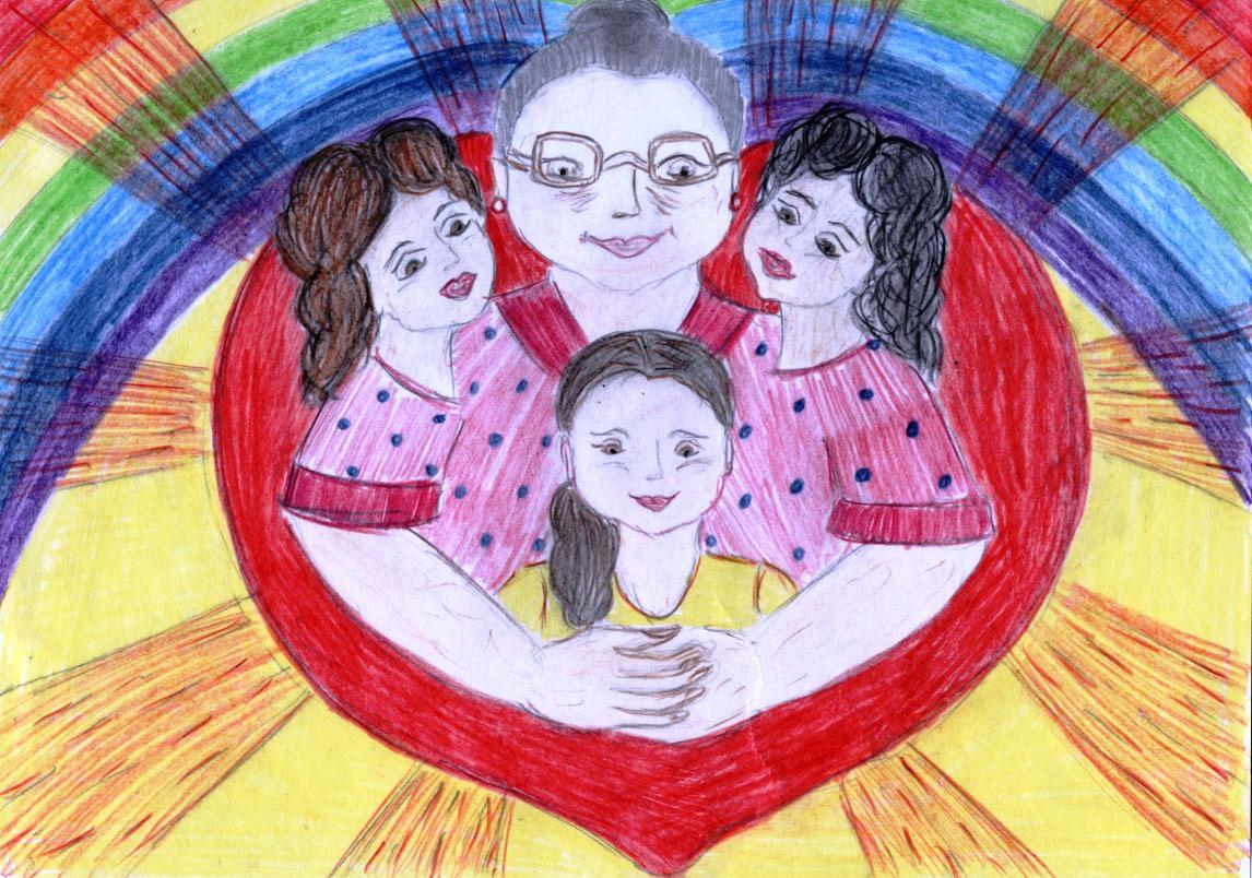 Открытки моя семья для детского сада, пасхой картинки армянском